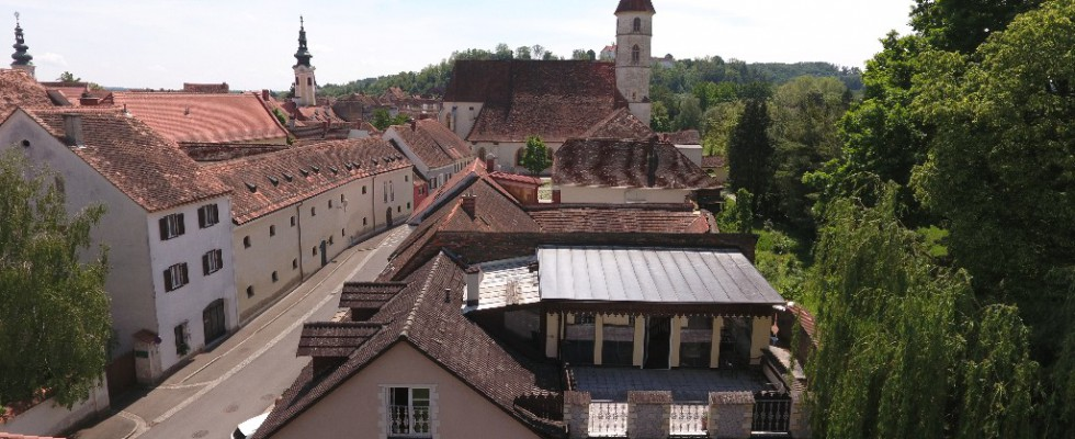 Südsteiermark Bad Radkersburg  Stadthaus mit Penthouse-Wohnung in zentraler Lage