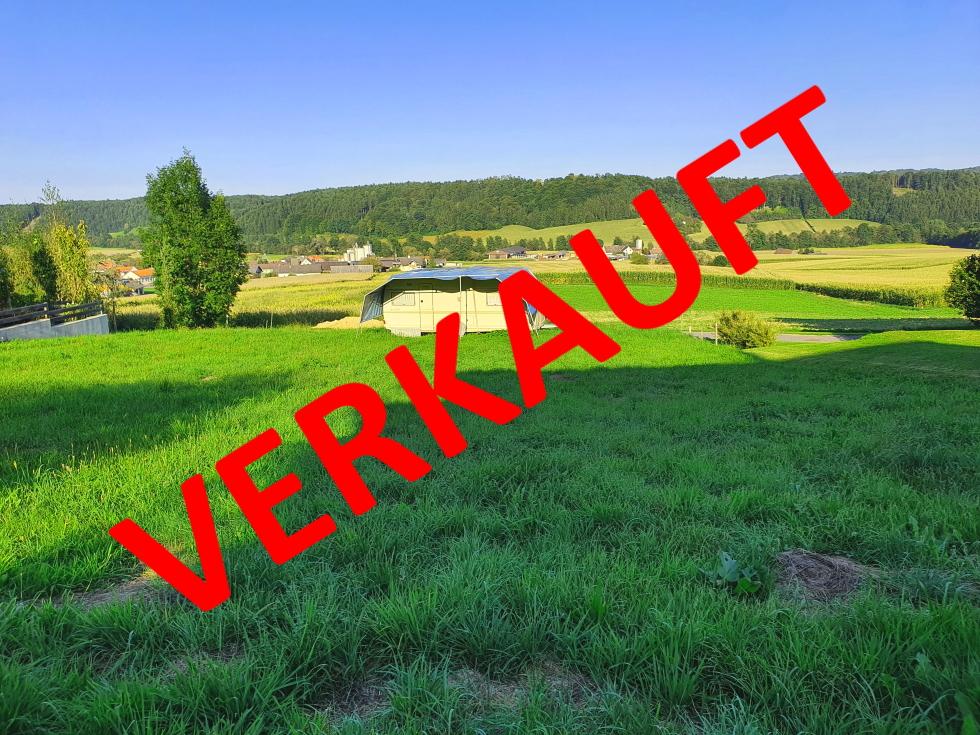 VERKAUFT! BAUGRUND – KEINE BEBAUUNGSPFLICHT / MÖGLICHKEIT FERIEN – ZWEITWOHNSITZ